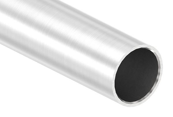 Edelstahlrohr, 42,4 x 3,0mm, Länge: 6000mm