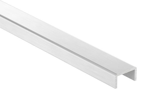 Aluminium-U-Profil, 22 x 12 x 2mm, Länge: 3000mm