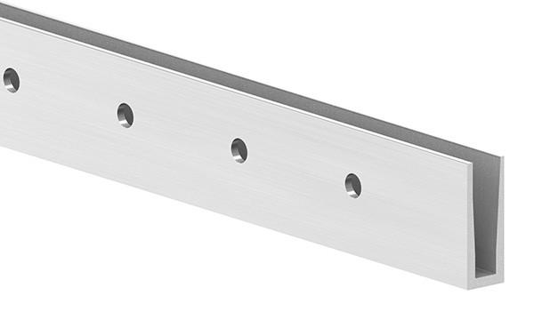 Alu-Profil ELEGANZA LIGHT zur seitlichen Montage, Länge: 6000mm