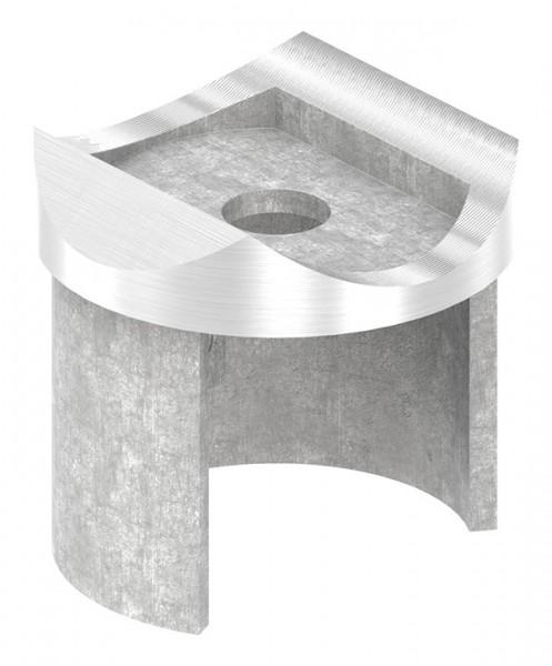 Adapter für Nutrohr-Anschluß 42,4mm