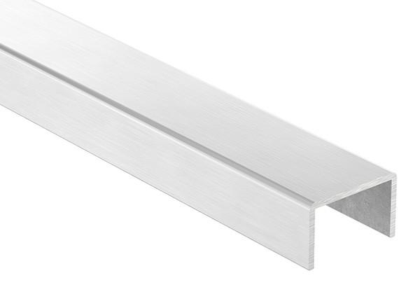Edelstahl-U-Profil, 32 x 20 x 2mm, Länge: 3000mm