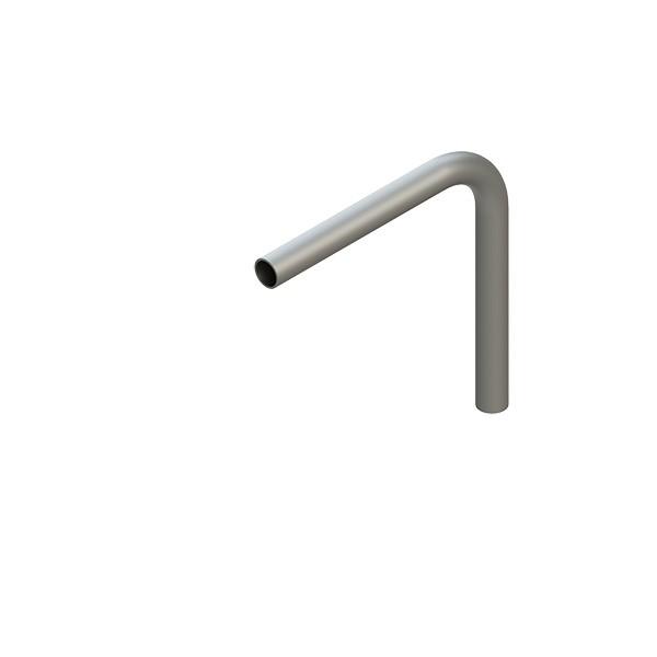 Stahl-Rohr-Bogen 90°, 33,7x2,5mm