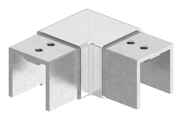 """Eckbogen, horizontal, für Nutrohr 40 x 40mm, """"Verlaufsecke"""""""