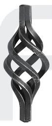 Zirbel 4x6x6mm, 140x50mm