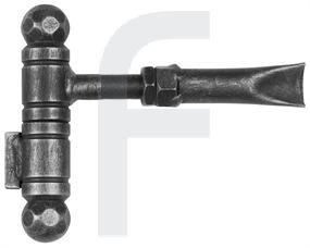 Verstellbares Türband