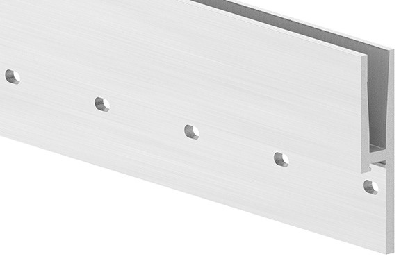 Alu-Profil ELEGANZA zur seitlichen Montage, Länge: 6000mm