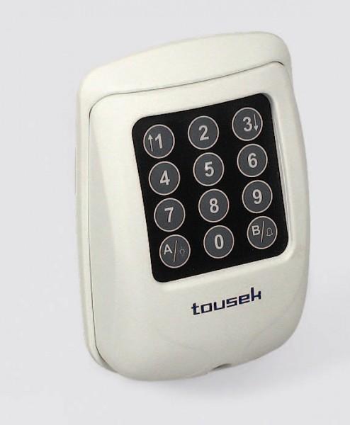 Funkcodeschloss TORCODY RS 433 Gehäusefarbe weiß