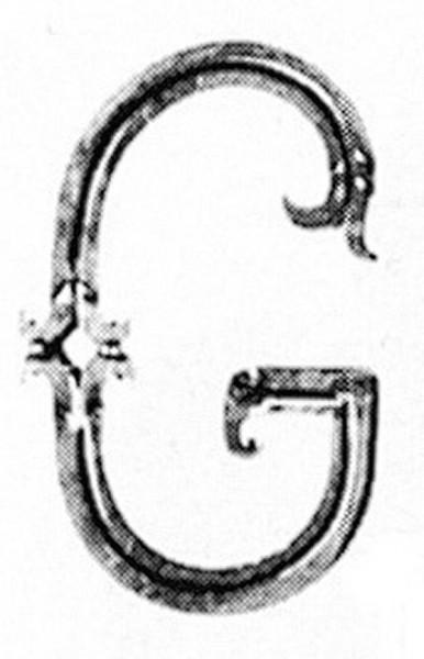 Buchstaben G