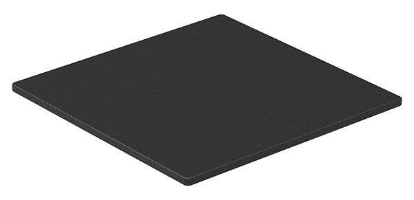 Unterleggummi EPDM, 65+-5 Shore A, schwarz, für Gummiset 80501-GU