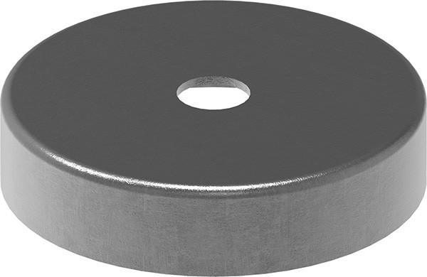 Abdeckrosette S235JR, 76x13mm, Bohrung 12,5mm