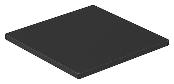 Unterleggummi 100x100x5mm EPDM, 65+-5 Shore A, schwarz, für Gummiset 80500-GU