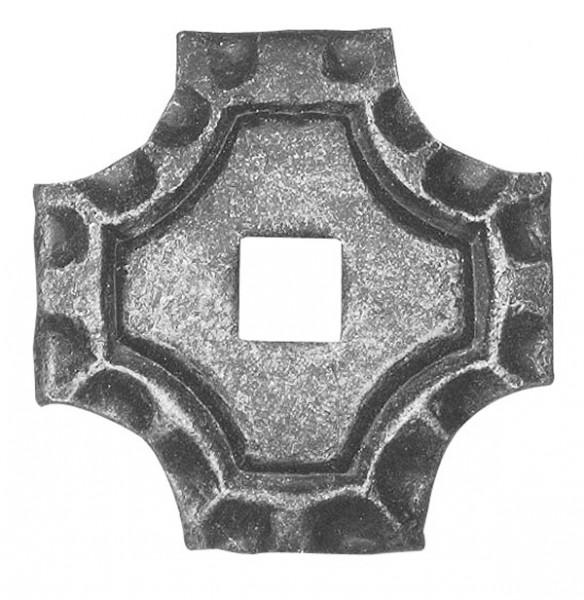 Bodenrosette 5mm, 65x65mm