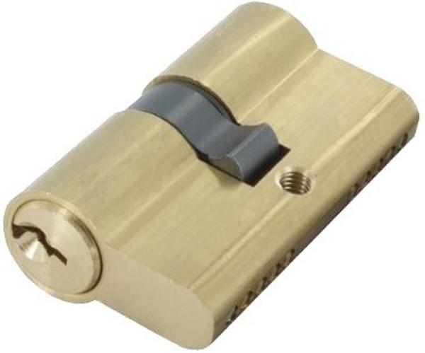 Profilzylinder aus Messing mit 3 Schlüssel