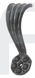 Zierhalter, 140x55mm