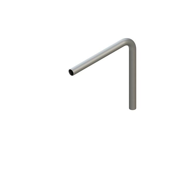 Stahl-Rohr-Bogen 90°, 26,9x2,0mm