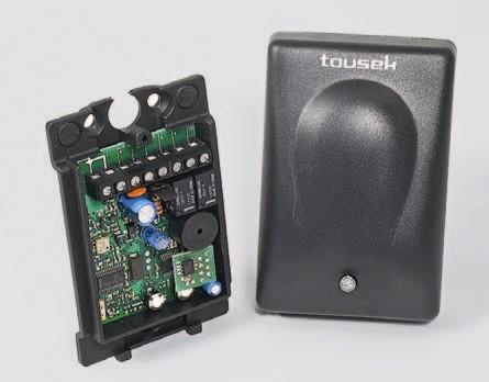 Funkempfänger RS433-K2.2 2Kanal 433 Mhz 12/24V