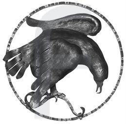 Zierelement Adler rechts