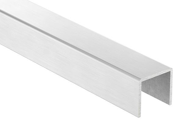 Edelstahl-U-Profil, 28 x 26 x 2mm, Länge: 3000mm