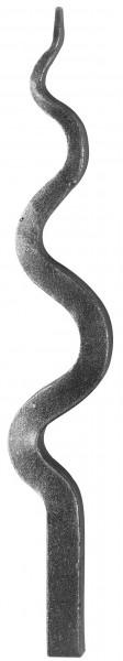 Zaunspitze Ansatz 12x12mm, Höhe 230mm