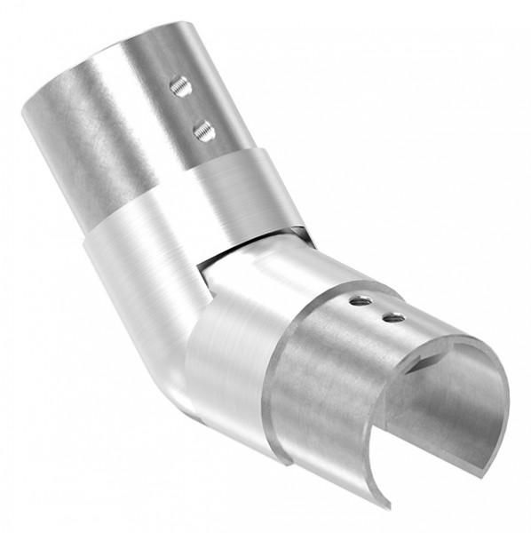 flexibler Verbinder für Nutrohr 42,4mm, aufwärts 25-55°
