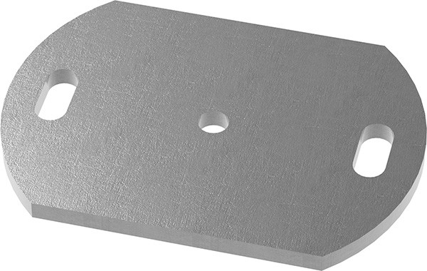 Ankerplatte 170x100x8mm