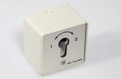 Schlüsselschalter MP-APZ/1-2T (AP/UP)