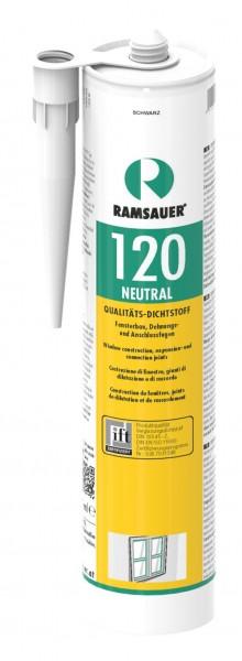 neutraler Silikondichtstoff schwarz, 310ml Kartusche