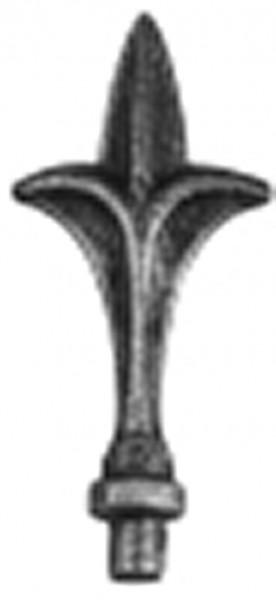 Zaunspitze Ansatz 12mm, 125x50mm