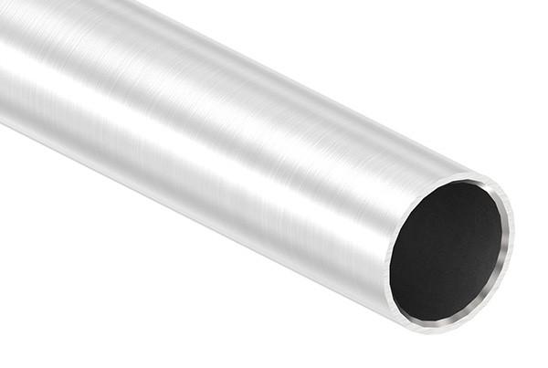 Edelstahlrohr, 33,7 x 2,5mm, Länge: 6000mm