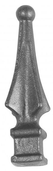 Zaunspitze Ansatz 24x24mm, Höhe 120mm