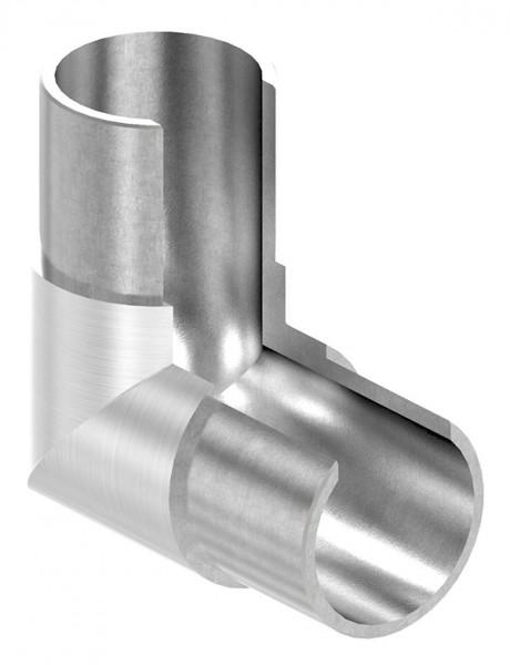 """Eckbogen, vertikal, für Anschluß 42,4mm, """"Rahmenecke"""""""