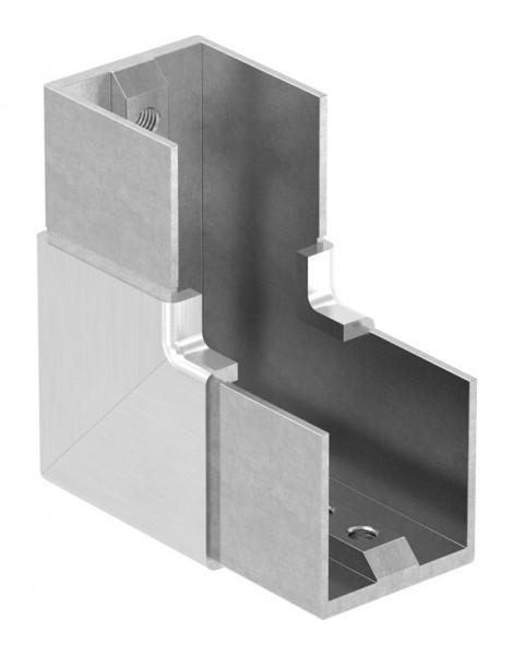 """Eckbogen, vertikal, für Nutrohr 40 x 40mm, """"Rahmenecke"""""""