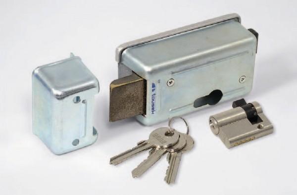 Elektroschloss mit PHZ und 3 Schlüssel 24V DC