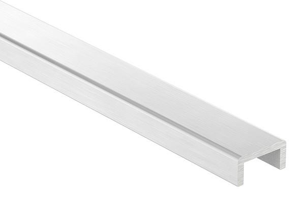 Aluminium-U-Profil, 24 x 12 x 3mm, Länge: 6000mm