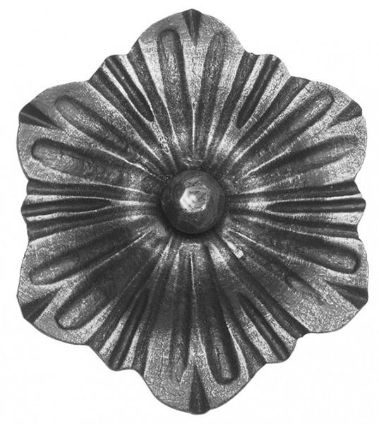 Ländliches Barock Zierrosette, 5mm, Durchmesser 125mm
