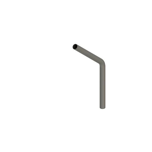 Stahl-Rohr-Bogen 45°, 26,9x2,0mm