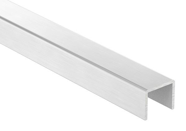 Aluminium-U-Profil, 24 x 20 x 2mm, Länge: 3000mm