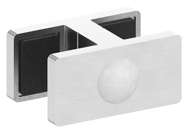 Glasklemme für Ganzglasgeländer für Glas 16,76 - 17,52mm