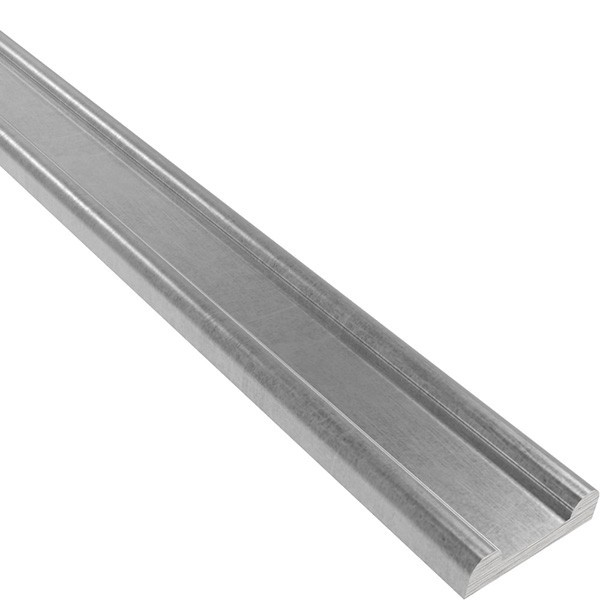 Hespeneisen S235JR, 40x8x4mm, Länge 6000mm