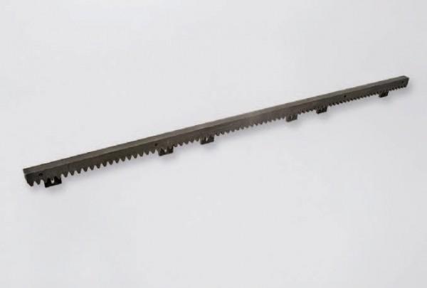 Zahnstange Kunststoff mit Stahlkern, Lasche unten