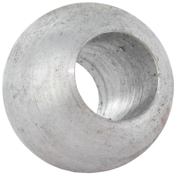 Massivkugel 30mm, Durchgangsbohrung 12,3mm