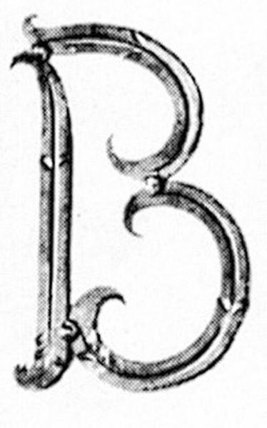 Buchstaben B