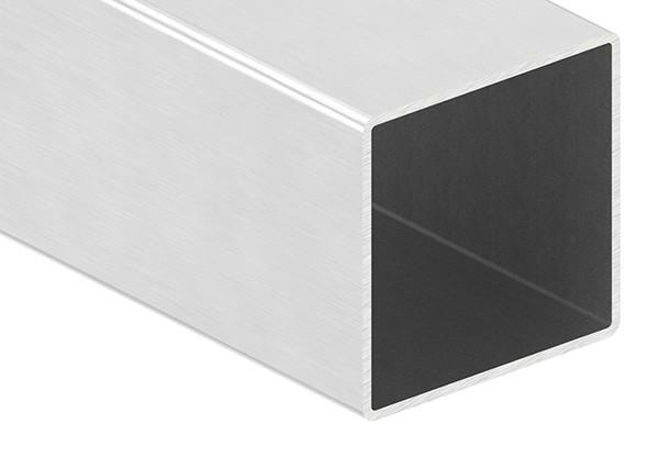 Quadratrohr, 60 x 60 x 2,0mm, Länge: 6000mm