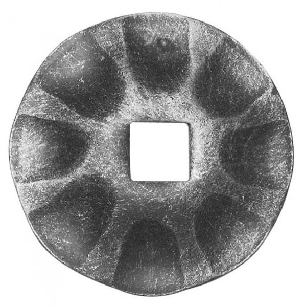 Rosette 3mm, Durchmesser 65mm