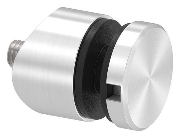 Glaspunkthalter Edelstahl V2A Durchmesser 30mm f/ür Rundrohr 42,4 mm