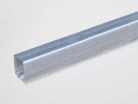 Stahlprofil P45 für Rollenaufhängung
