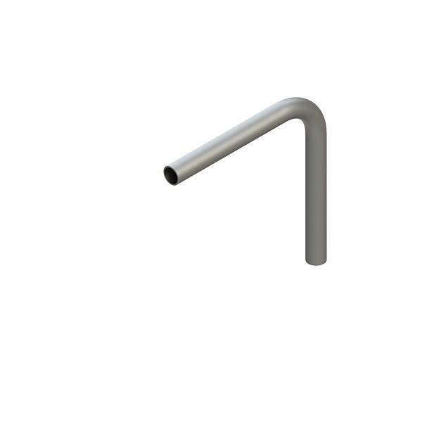 Stahl-Rohr-Bogen 90°, 42,4x2,5mm