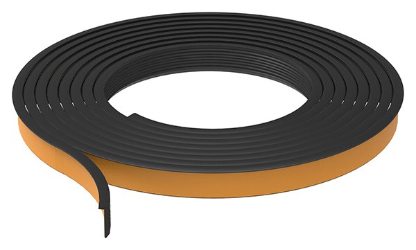 Abschlussdichtung oben, EPDM 80+-5° Shore, schwarz, für Gummiset 80500-GU