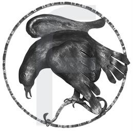 Zierelement Adler links