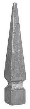 Zaunspitze Anastz 30x30mm, Höhe 186mm